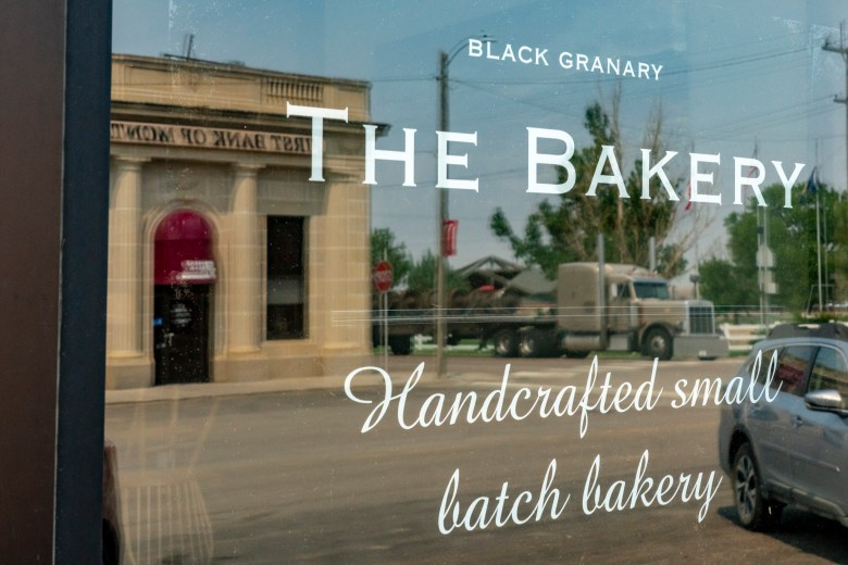 Big Sandy Montana bakery and bank