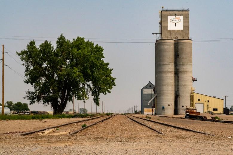 Big Sandy Montana grain elevators