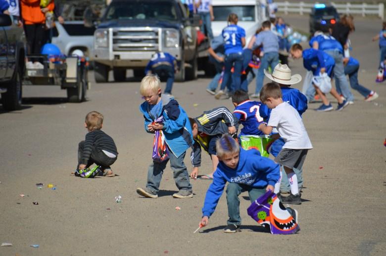 Carter County Montana Homecoming parade
