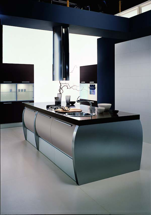 aster cucine trendy space island units