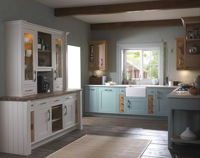 british kitchens, mereway shaker style kitchen design