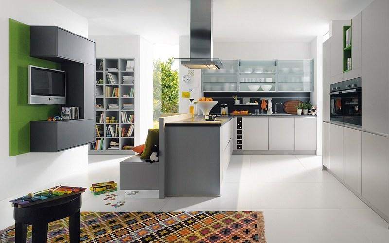 handleless kitchen, schuller kitchens, monza plus