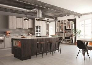 wood kitchen, mereway, treviso dark