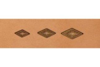 barry king geometrics, lined diamond geometric stamp tool