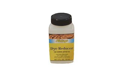 fiebing's dye reducer, leather dye reducer, leather dye thinner