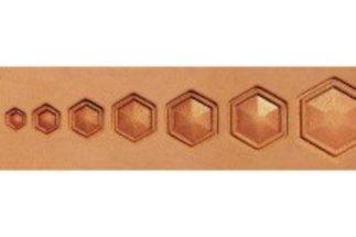 barry king geometrics, hollow hex geometric stamp tools
