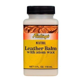 Leather Balm with Atom Wax