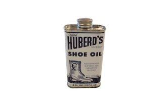 leather oil, shoe oil, boot oil, huberd's shoe oil