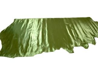 metallic green leather, green leather, metallic leather