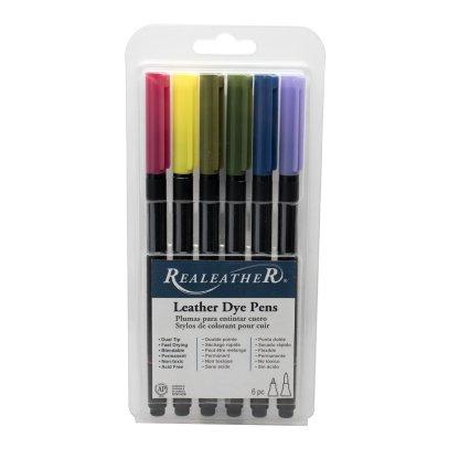 leather dye pens, leather markers, leather dye, landscape dye