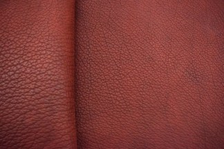 Red Utta Bison Leather