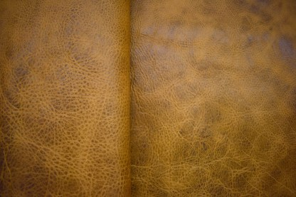 distressed leather, upholstery leather, bison leather, light brown leather