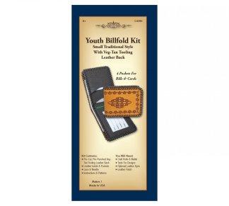 leather kit, billfold, wallet, Realeather, Silver Creek