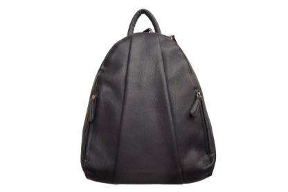 leather backpack, osgoode marley, dark grey backpack