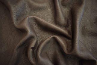 dark brown deer leather, chocolate deerskin