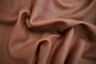 medium brown deerskin, mahogany deerskin