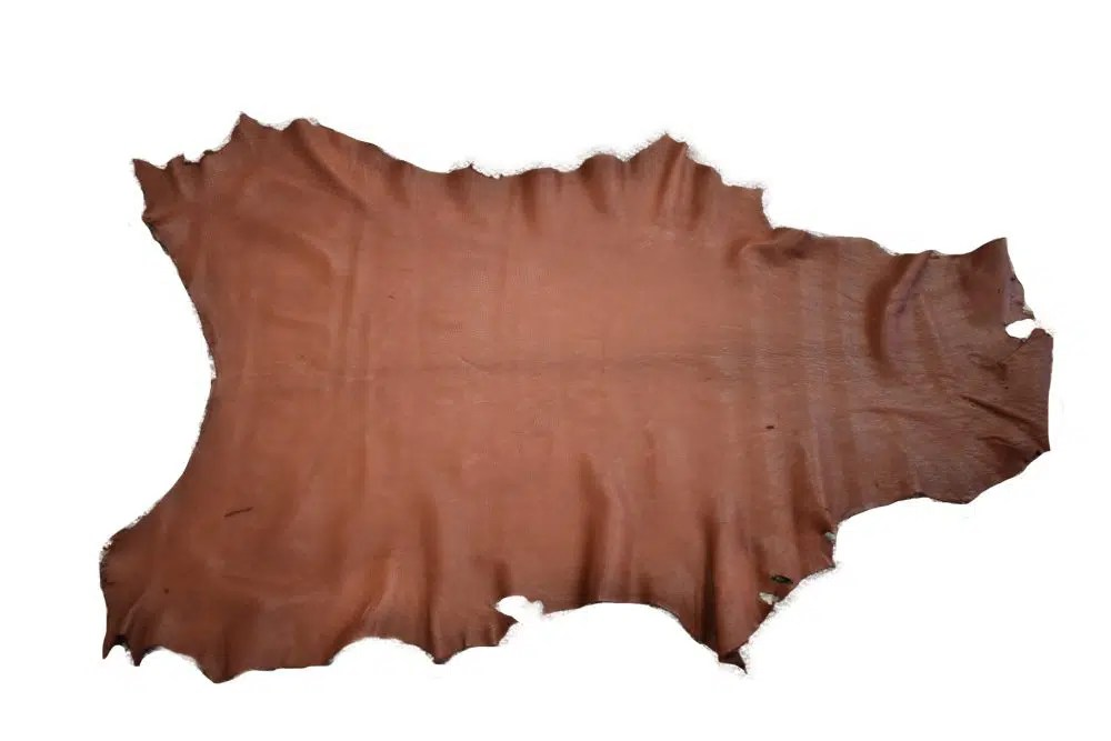 a18b6f978c2 Mahogany Deerskin Leather