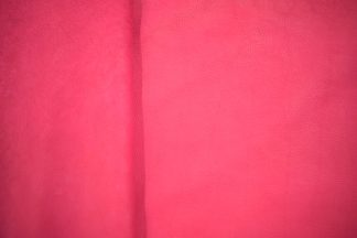 fuchsia leather, pink bison leather