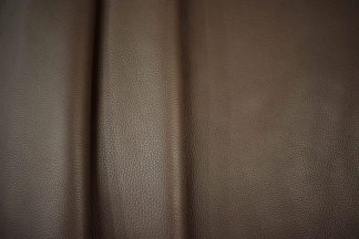 Dark brown bullhide leather