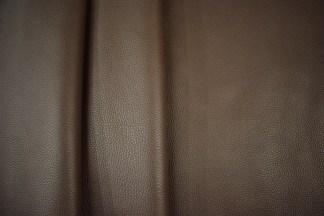 Dark brown bullhide leather