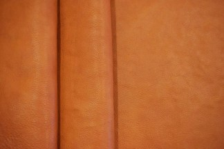 Chestnut Milled Hermann Oak Leather