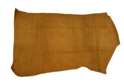 Saddle Tan Suede Leather