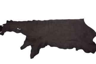 Dark Brown Bison Leather