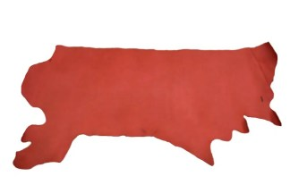 Vaqueta Red Veg Tan Leather