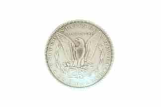 Dollar concho, Eagle concho, round concho