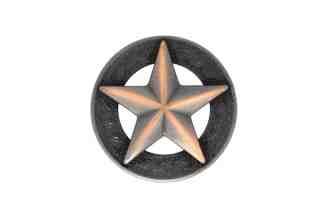 Star concho, Copper concho