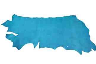 Vaqueta Turquoise Veg Tan Leather