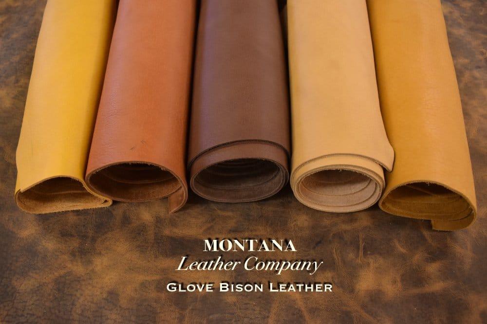Glove Bison Leather