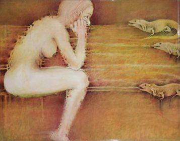 Mujer Iguana by Sandra Uribe