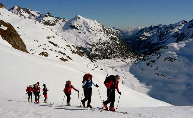 Planificar una actividad de montaña invernal - Montaña Segura