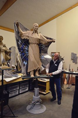 Dale Lamphere's Dignity Sculpture