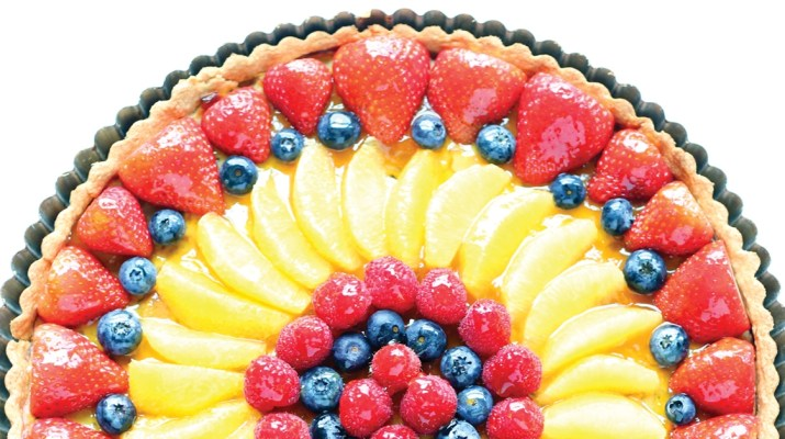 MSN 345 - Glorious Fruit Tart for Grownups