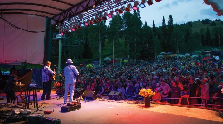 Targhee Music Festival in Wyoming