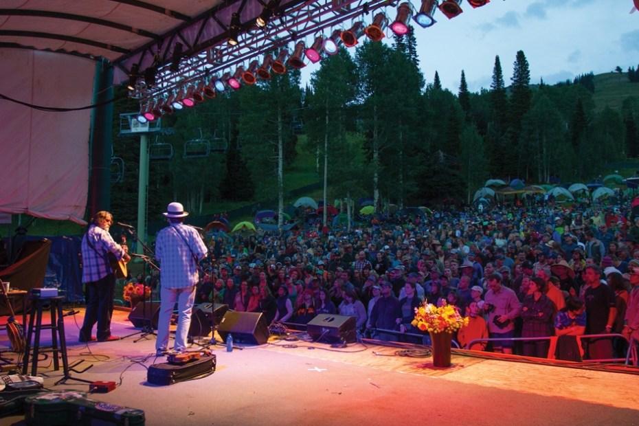 Targhee Music Festival in Wyoming