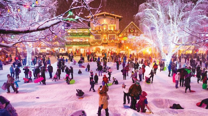 A village of lights: Leavenworth, Washington during the Holidays