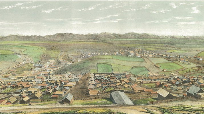Pencil Sketches of Montana by Alfred Mathews