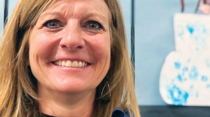 Sue Sweeney, Principal of Broadwater Elementary School in Helena, Mont.