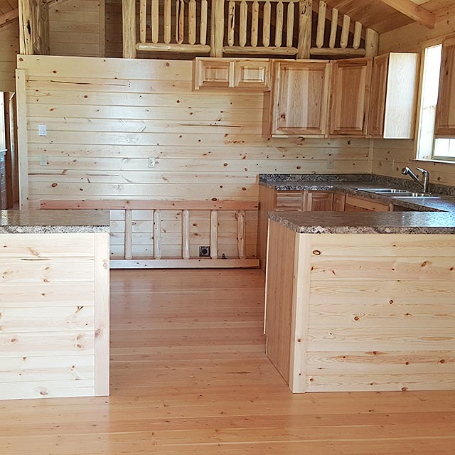 Cabin Counter Space