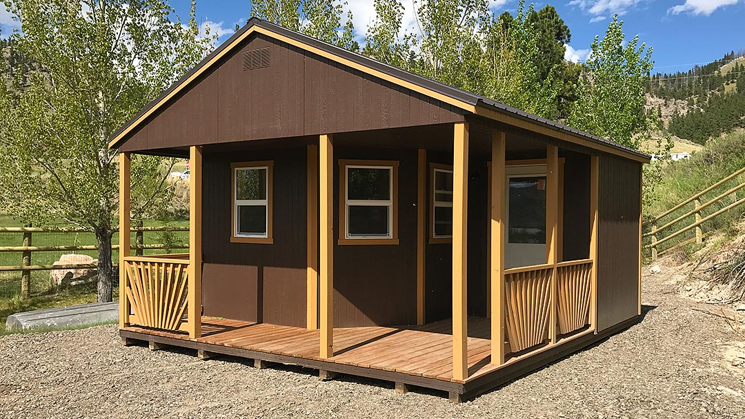 A-Frame Outfitter Cabin
