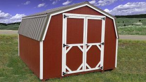 Lo-Wall Barn Storage Shed