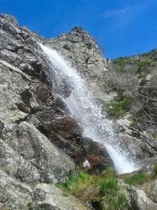 Cascada de los Litueros.