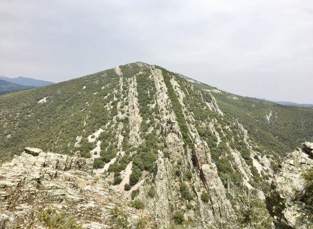 Pedriza Matacuras, ladera sur del Cerro de Corralejo.