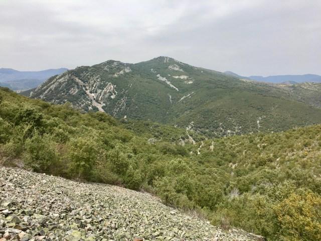 Cerro de Corralejo visto desde el Camino de Matallana.