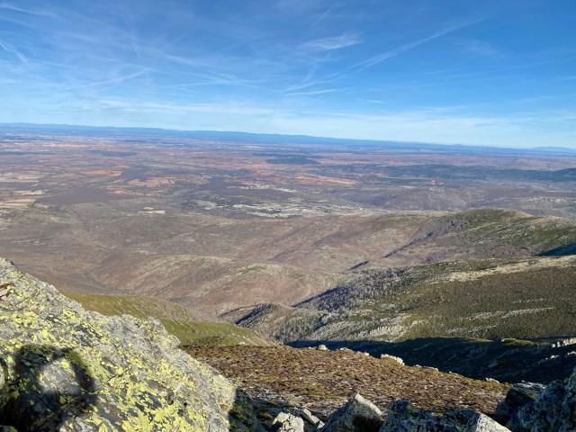 Tierra de Ayllón desde la cima de La Buitrera.