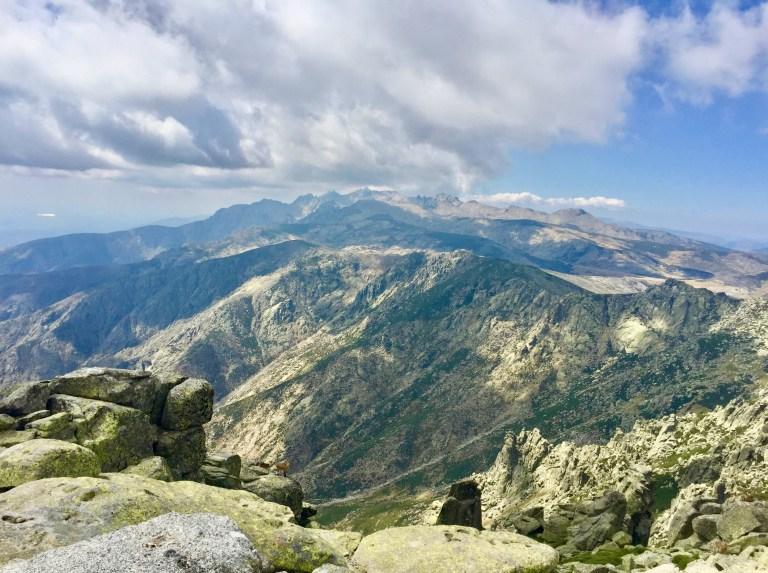 La Garganta Lóbrega vista desde La Mira.
