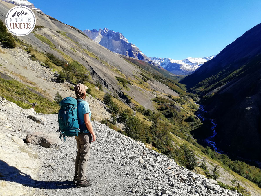 Circuito W Torres Del Paine Mapa : Bienvenidos a torres del paine patagonia chile